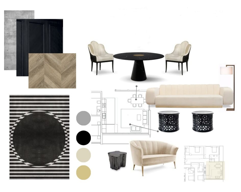 Design Concept and Space Planning by Urvission Interiors