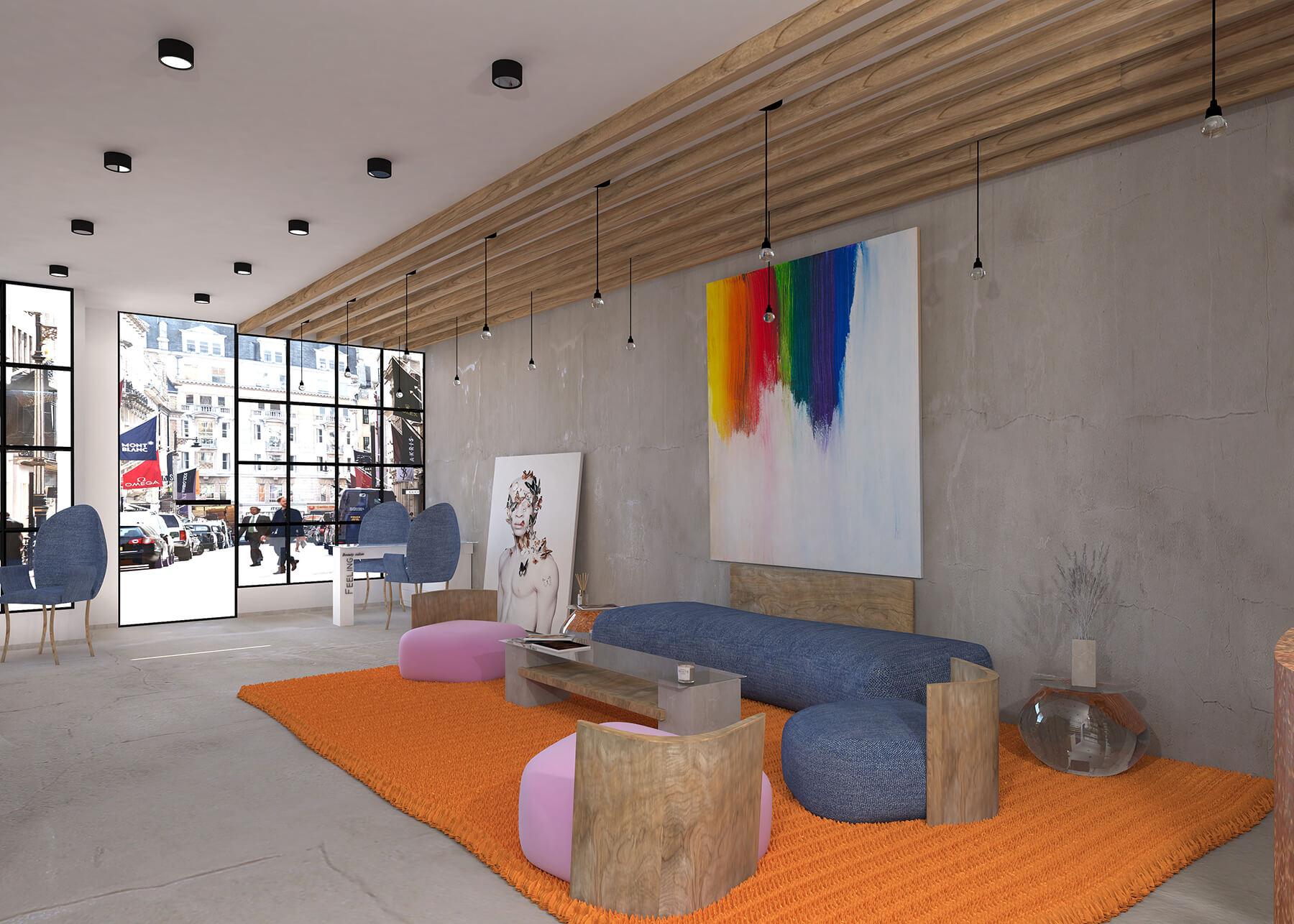 Beauty Salon Interior Design in London Urvission Interior