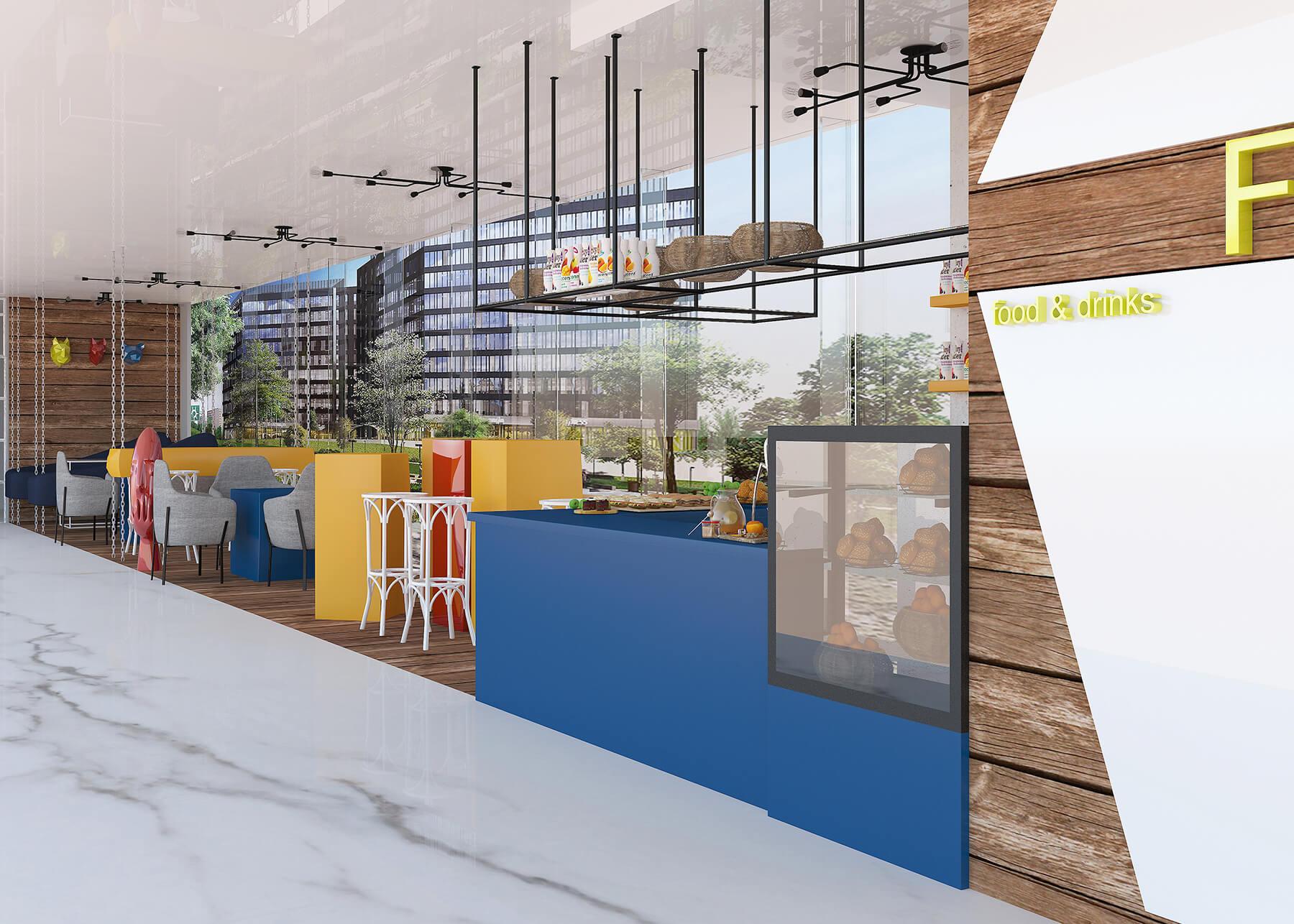 Hospitality Project Urvission Interior
