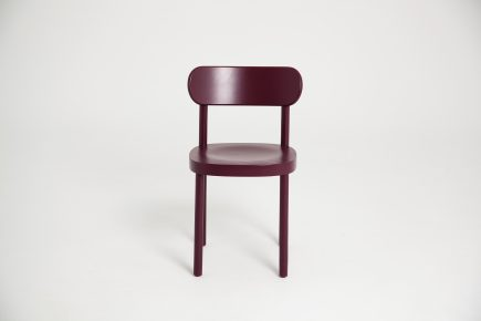 Bespeke_Deep_Red_Wooden_Modern_Dining_Chair_Party_Urvission_Interiors_price_£174