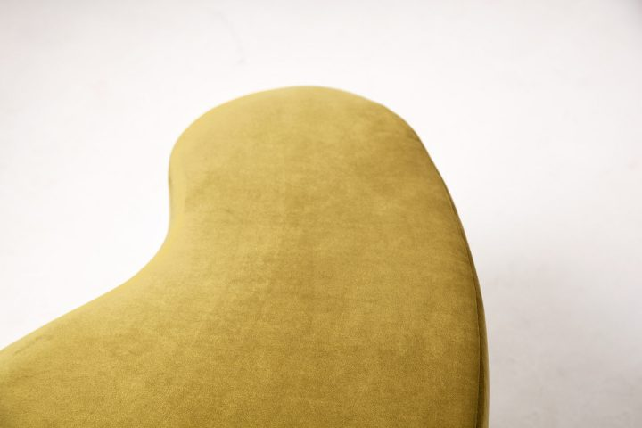 Upholstered_moss_green_and_burnt_orange_cosy_poufs_London_Urvission_Interiors_price_£577