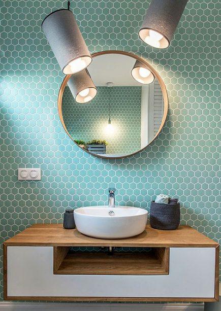 Bespoke Limba Solid Wood White MDF Painted Drawer Wall Hung Vanity Unit Madison