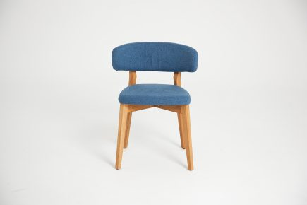 Mid_century_modern_blue_prholstery_wooden_dining_chair_Luna_Urvission_Interiors_price_215£