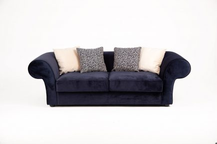 Cosy_Navy_blue_modern_chesterfield_2_seater_sofa_Wilson_Urvission_Interiors_price_£1780