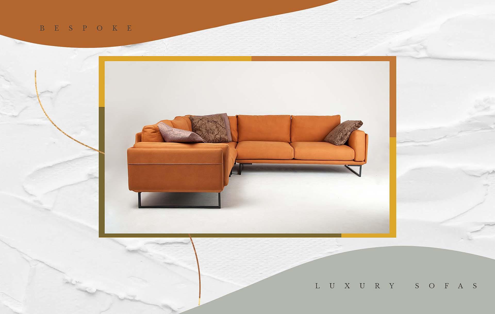Orange_corner_sofa_Urvission_Interiors