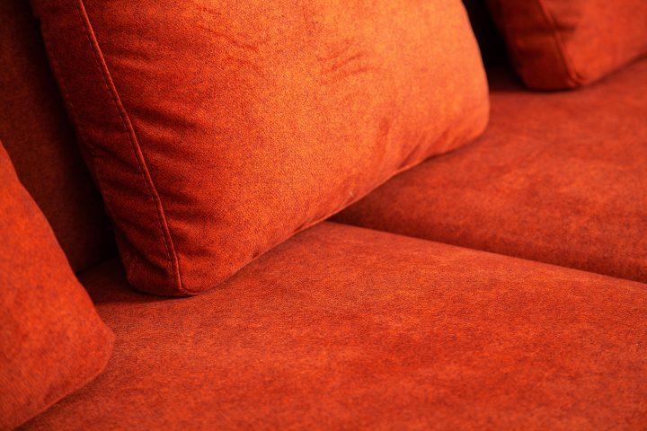 Comfortable_burnt_orange_fabric_3_seater_sofa_Davenport_Urvission_Interiors
