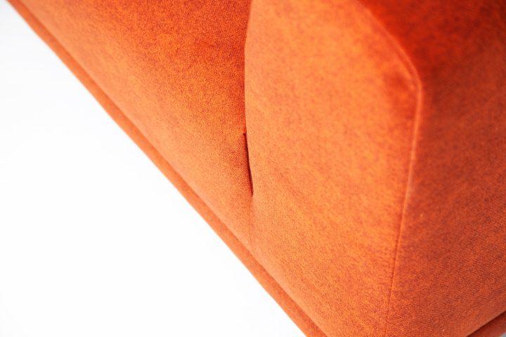 Orange_couch_fabric_3_seater_Urvission_Interiors