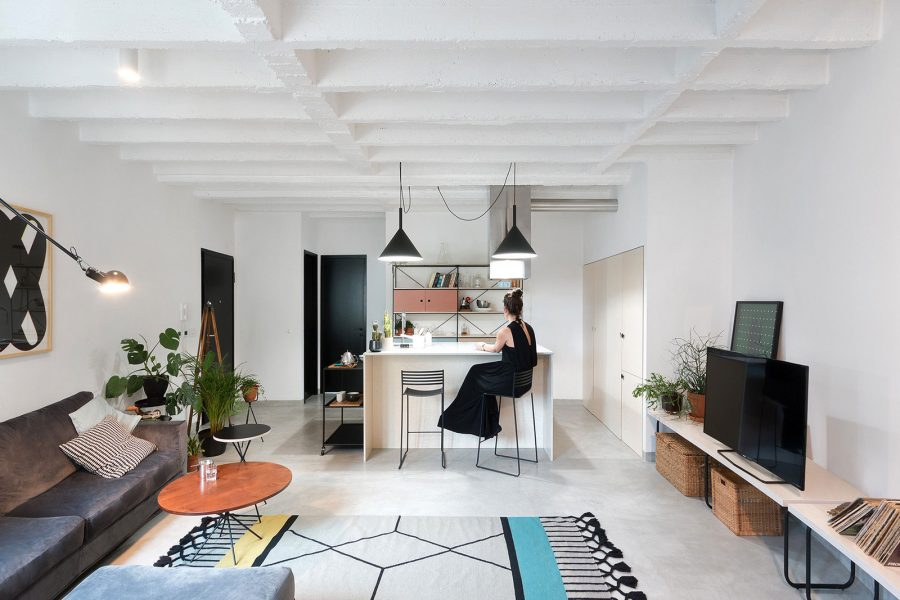 Cosy Scandinavian open spase apartment by Urvission Interiors