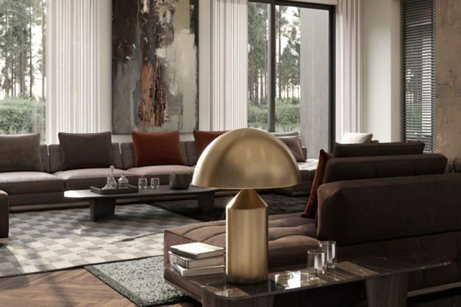 Living room bespoke furniture design by Urvission Interiors